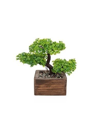 Çiçekmisin Kasada Minyatür Yapay Ağaç Yeşil